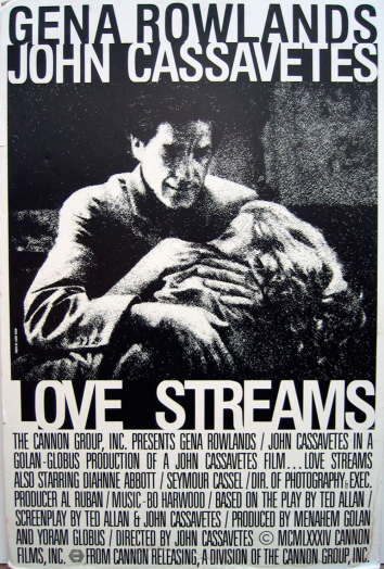 ״Love Streams״ של ג׳ון קסאווטס: ״אם טאיוואן רוצים את ברונסון, הם צריכה לקחת גם את קסאווטס״.