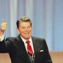 ״אז מיהו סגן הנשיא, ג׳רי לואיס?״ על המופע של רייגן ופוליטיקת הדימוי